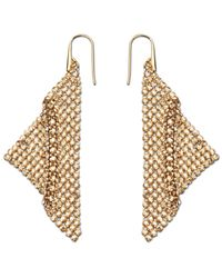 Swarovski | Metallic Fit Pierced Earrings | Lyst