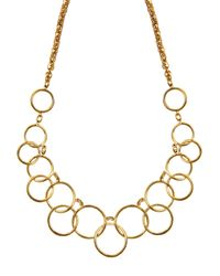 Nine West | Metallic Tail Necklace | Lyst