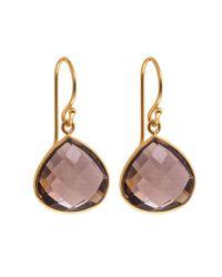Juvi Designs - Metallic Gold Vermeil Egadi Drop Earrings - Lyst