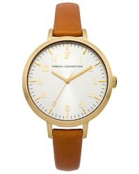 French Connection | Metallic Ladies Strap Watch | Lyst