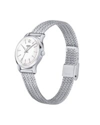 Henry London - Metallic Edgware Mesh Bracelet Watch. - Lyst