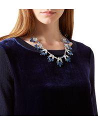 Hobbs - Blue Sophie Necklace - Lyst