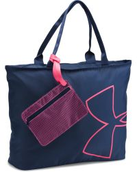Under Armour | Blue Big Logo Tote | Lyst
