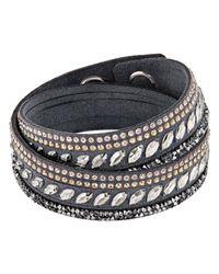 Swarovski | Multicolor Slake Pulse Bracelet | Lyst