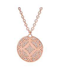 Fossil | Pink Jf01438791 Ladies Necklace | Lyst