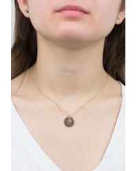 Juvi Designs - Metallic Constellation Rose Gold Pendant - Lyst
