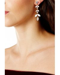 Coast - Metallic Elsa Cubic Zirconia Earrings - Lyst