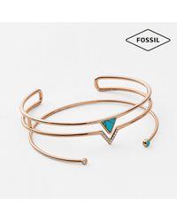 Fossil - Metallic Jf02643791 Ladies Bracelet - Lyst