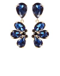 Coast | Blue Gabi Statement Earrings | Lyst