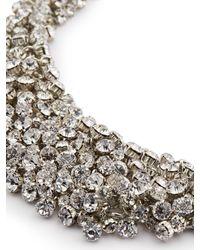 Jacques Vert | Metallic Diamante Cluster Necklace | Lyst