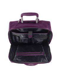 Lipault - Rolling Tote 15 Fl Purple - Lyst