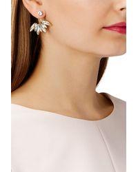 Coast - Multicolor Iris Floral Earrings - Lyst