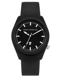 French Connection | Black Ladies Strap Watch | Lyst