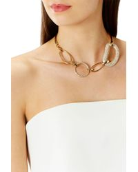 Coast - Metallic Talma Statement Chain Necklace - Lyst
