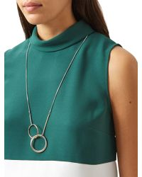 Hobbs | Multicolor Mia Long Necklace | Lyst