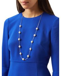Hobbs | Multicolor Grace Lg Necklace | Lyst