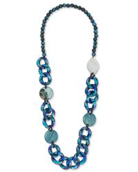 East - Blue Moon River Necklace - Lyst