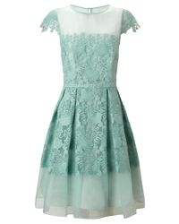 Ariella - Green Raegan Prom Dress - Lyst