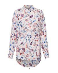 Great Plains - Multicolor Faeryday Floral Elastic Waist Shirt - Lyst