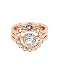 Ted Baker - Metallic T13172402 Cadyna Crystal Ring - Lyst