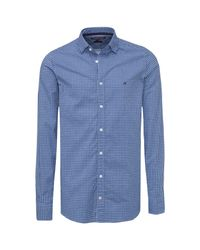 Tommy Hilfiger - Blue Felga Gingham Shirt for Men - Lyst