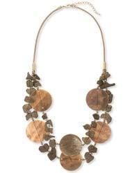 East - Metallic Atilio Necklace - Lyst