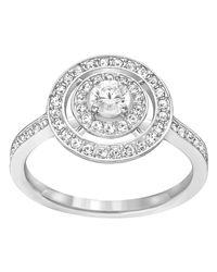 Swarovski | Metallic Attract Light Ring | Lyst