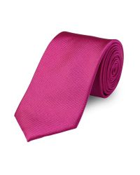 Paul Costelloe   Purple Fuchsia Twill Tie for Men   Lyst