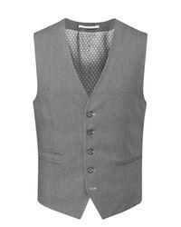 Skopes | Gray Sharpe Waistcoat for Men | Lyst
