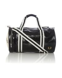 Fred Perry | Black Classic Barrel Bag for Men | Lyst