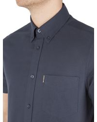 Ben Sherman - Multicolor Classic Oxford Short Sleeve Shirt for Men - Lyst