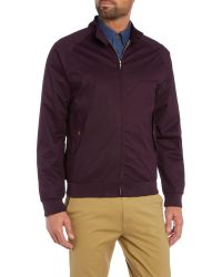 Ben Sherman - Purple The Harrington Jacket for Men - Lyst