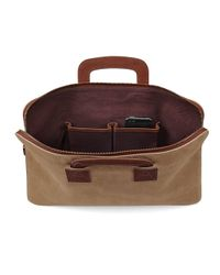 Aspinal - Brown Connaught Document Case for Men - Lyst