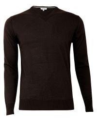 Calvin Klein | Black Merino Sweater for Men | Lyst