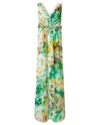 Ariella | Green Kimberley Maxi Dress | Lyst