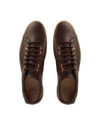 Paul Smith - Brown Osmo Side Stripe Sneakers for Men - Lyst