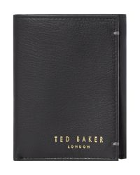 Ted Baker   Black Logo Stud Card Holder   Lyst