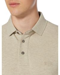 Howick | Natural Paxton Plain Pique Long Sleeve Polo Shirt for Men | Lyst
