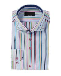 Bäumler | Multicolor Stripe Classic Fit Long Sleeve Shirt for Men | Lyst