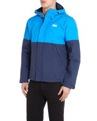 Helly Hansen - Blue Fremont Waterproof Mac for Men - Lyst