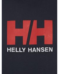Helly Hansen - Blue Hh Logo T-shirt for Men - Lyst