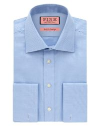 Thomas Pink | Blue Joseph Texture Slim Fit Shirt for Men | Lyst