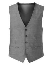 Skopes | Gray Piero Plain Tailored Fit Waistcoat for Men | Lyst