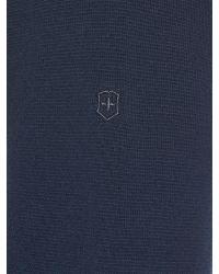 Victorinox - Blue Karl Full Zip Cardigan for Men - Lyst