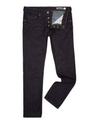 Duck and Cover | Blue Boxsir Jeans Straight Fit Dark Wash for Men | Lyst