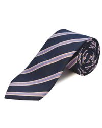 Double Two   Blue Extra Long Polyester Tie for Men   Lyst