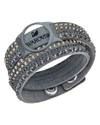 Swarovski | Metallic Slake Dlx Ac Bracelet | Lyst
