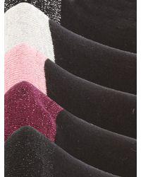 Jane Norman Black 5pk Socks