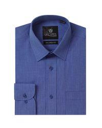 Skopes | Blue Easy Care Formal Tailored Eoe Shirts for Men | Lyst