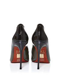 Moda In Pelle | Metallic Nilana Oval Trim Flat Sandals | Lyst